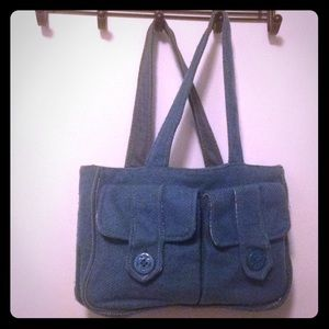 Handbags - Abercrombie & Fitch wool purse